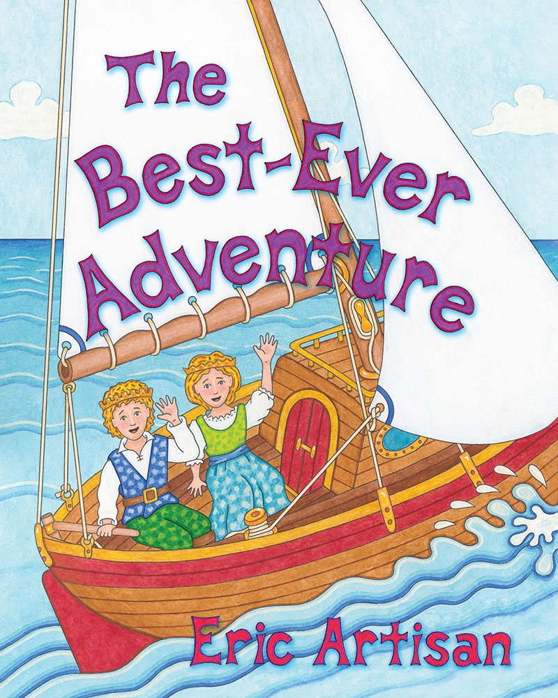 Book cover for The Best-Ever Adventure by Eric Artisan